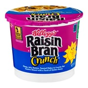 Kelloggs Raisin Bran Crunch Cereal in a Cup, 28 oz. 24/Pack