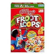 Kelloggs Fruit Loops Cereal, 8.7 oz., 6/Pack
