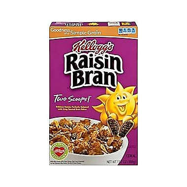 Kelloggs™ Raisin Bran® Cereal, 13.7 oz. Box, 1/Pack