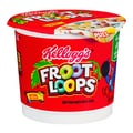 Kelloggs Froot Loops Cereal in a Cup, 1.5 oz. Cups, 24/Pack