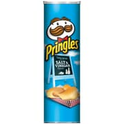 Pringles Pizza, Salt & Vinegar, 5.96 oz., 12/Pack