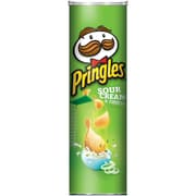 Pringles Pizza, Sour Cream Onion, 5.96 oz., 12/Pack