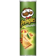 Pringles Potato Chips, Jalapeno, 5.96 oz., 12/Pack