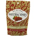 Natural Vines® Licorice, Strawberry, 3 oz. Bag