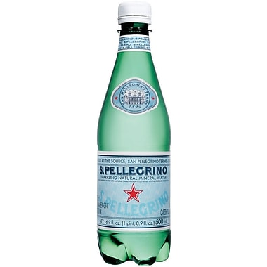 San Pellegrino® Sparkling Mineral Water, 500 ml Bottle