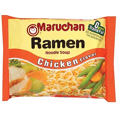 Maruchan Ramen Chicken Noodle Soup, 3 oz., 75/Pack