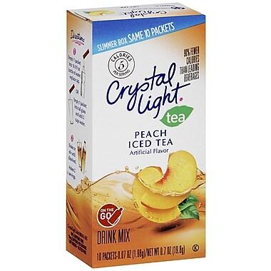 Crystal Light On The Go 0.9 oz. Mix Sticks Peach Tea, 3-30 Packs