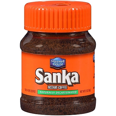 Sanka Instant Coffee, Naturally Decaffeinated