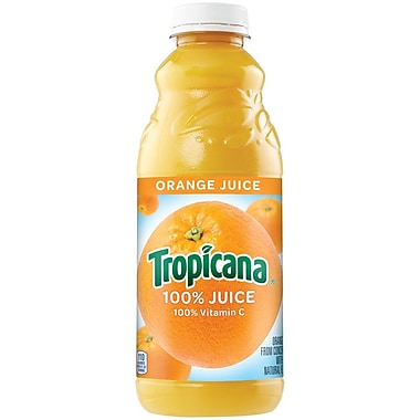 Tropicana Orange Juice 32 oz., 12/Pack