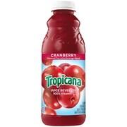 Tropicana Cranberry Juice, 32 oz., 12/Pack