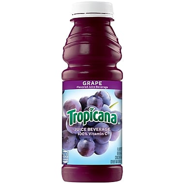 Tropicana Grape Juice, 15.2 oz., 24/Pack