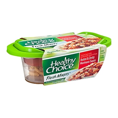 Healthy choice® Rotini And Zesty Marinara Sauce, 6.95 oz., 6/Pack