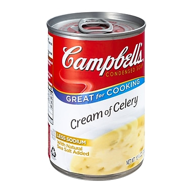 Campbells Condensed Cream of Celery Soup, 10.75 oz., 12/Pack