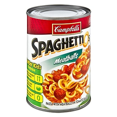 Campbells® SpaghettiOs® With Meatballs, 14.75 oz.