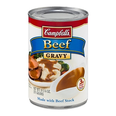 Campbells Beef Gravy, 10.25 oz. Can, 16/Pack