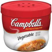 Campbells Vegetable Beef Soup, 15.5 oz., 12/Pack