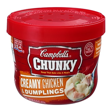 Campbells Chunky Chicken and Dumplings, 15.5 oz., 8/Pack