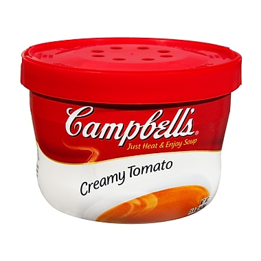 Campbells Creamy Tomato Soup, 15.5 oz., 12/Pack