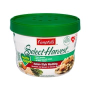 Campbells Select Harvest Italian Style Wedding Soup, 15.3 oz., 6/Pack