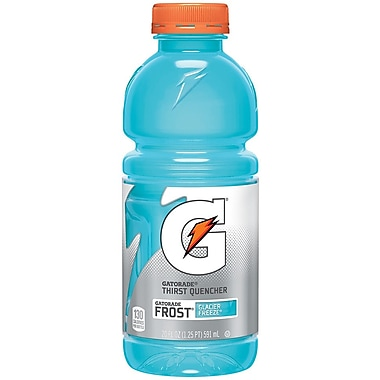 Gatorade® Perform Frost Glacier Freeze Energy Drinks, 20 oz. Bottles