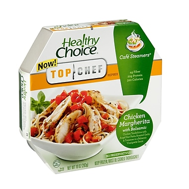 Healthy choice Cafe Steamers Chicken Margherita, 10 oz., 8/Pack
