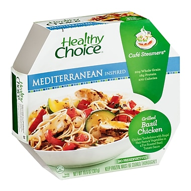 Healthy choice® Cafe Steamers Grilled Basil Chicken, 10.6 oz., 8/Pack
