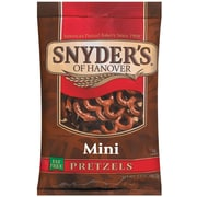 Snyder s of Hanover Mini Pretzels, 3.5 oz., 32/Pack
