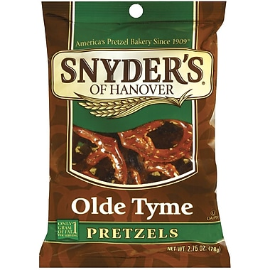 Snyder s of Hanover Olde Tyme Pretzels, 2.75 oz., 32/Pack