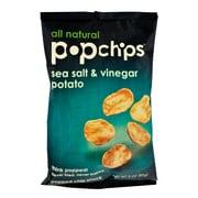 popchips Potato Chips, Sea Salt & Vinegar, 3 oz., 12/Pack