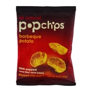 popchips Barbeque Potato Chips, 0.8 oz., 32/Pack