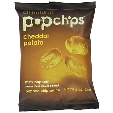 popchips® Potato Chips, Cheddar, 0.8 oz.