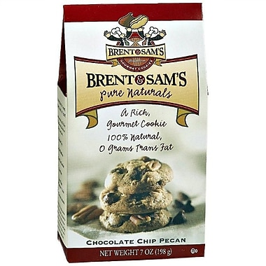 Brent & Sam s Chocolate Chip Pecan, 7 oz., 12/Case, 12/Pack