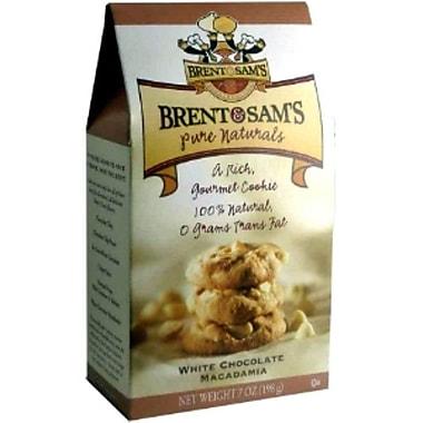 Brent & Sam s White Chocolate Macadamia Nut, 7 oz., 12/Case, 12/Pack