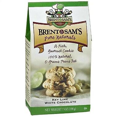 Brent & Sam s Key Lime White Chocolate, 7 oz., 12/Case, 12/Pack