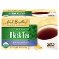 Nash Brothers Organic Black Tea Earl Grey, 6/Pack