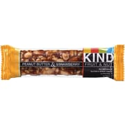 KIND Peanut Butter/Strawberry Fruit and Nut Bars, 1.4 oz. Bars, 24/Pack