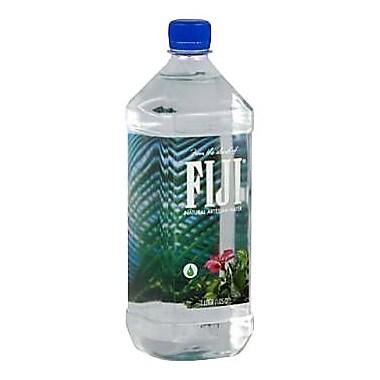 Fiji Natural Artesian Water, 1 Liter Bottle, 6/Pack