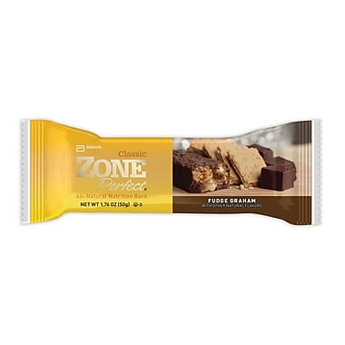 Zone Perfect® All Natural Fudge Graham Nutrition Bar, 1.76 oz. Bars, 6/Pack