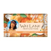 Wai Lana Fruit & Nut Bar Apricot Cashew/All Natural Bar, 2 oz. Bars, 12/Pack