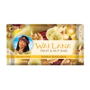 Wai Lana Nana Banana Fruit and Nut Bars, 2 oz. Bars, 12/Pack