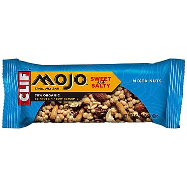 Clif MojoMixed Nuts All Natural Trail Mix Bars, 1.59 oz. Bars, 12/Pack