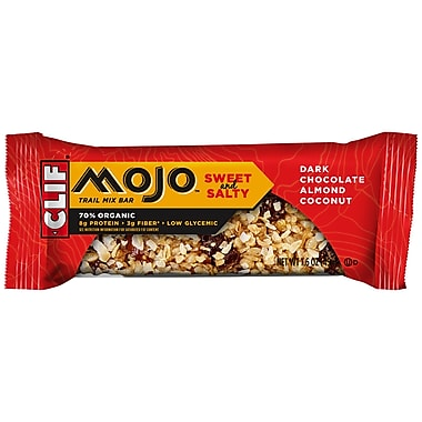 Clif Mojo®Chocolate Almond Coconut All Natural Trail Mix Bars, 1.59 oz. Bars, 12/Pack