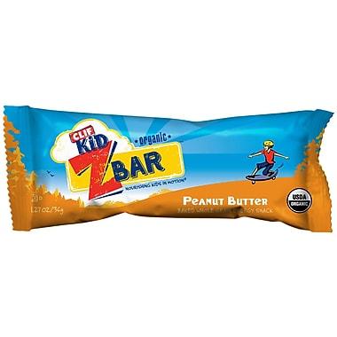 Clif Kid Organic Peanut Butter Bars, 1.27 oz. Bars, 36/Pack