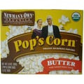 Newmans Own® Organics Butter Popcorn, 3.3 oz., 12/Pack