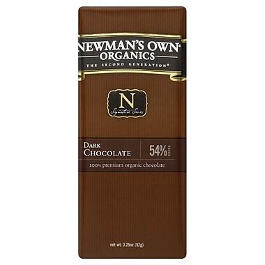 Newmans Own Organic Dark Chocolate Bars, 3.25 oz. Bars, 12/Pack