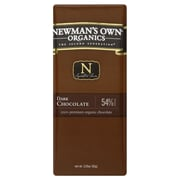 Newmans Own Organic Dark Chocolate Bars, 3.25 oz. Bars, 12/Pack