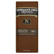 Newmans Own Organic Espresso Dark Chocolate Bars, 3.25 oz. Bars, 12/Pack