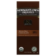 Newmans Own Mocha Milk Chocolate Bars, 3.25 oz. Bars, 12/Pack