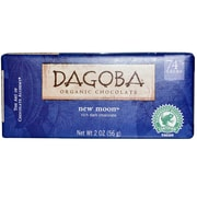 Dagoba Semisweet Dark chocolate Bars, 2 oz. Bars, 12/Pack