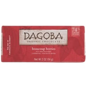 Dagoba Beaucoup Berry Chocolate Bars, 2 oz. Bars, 12/Pack